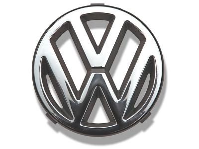 Original VW ® Bus T2 T3 Emblem Kühlergrill 125 mm in Chrom Logo Kühler Grill