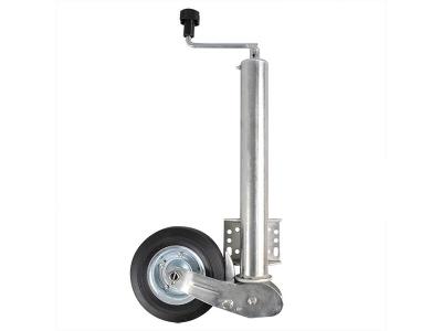 Stützrad Deichselrad Anhänger 60mm Vollgummireifen Max. 400kg Trailer 200x60 mm