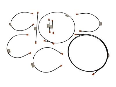 Bremsschläuche alle VW T4 Modelle Bremsleitungssatz Satz Bremsleitungen