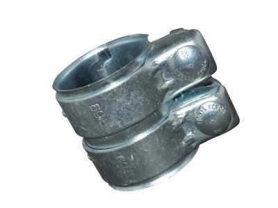 Universal Rohrverbinder Verbinder Schelle Doppelschelle Ø 60 - 64,5 mm L = 95 mm