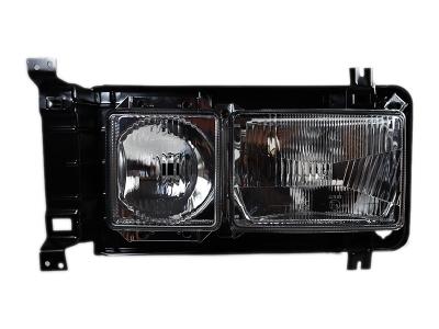VW Bus T2 T3 Tragrahmen Scheinwerfer Doppelscheinwerfer LINKS komplett