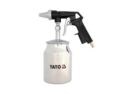 YATO 1L Sandstrahlpistole Druckluft Sandstrahler Strahlpistole Sandstrahlbehälter