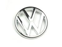 Original ® VW Chrom Zeichen Logo Emblem Kühlergrill Bus T3 Golf Cabrio Caddy 95mm