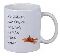 Kaffee Tasse Ein Glühwein Swei Glühwein Rei Glühwein Weihnachtsmarkt X-Mas NEU