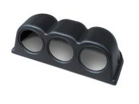 Zusatzinstrument 3-Fach Instrumentenhalter Halter SCHWARZ Armaturenbrett 52mm